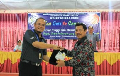 Tax Goes To Campus (TGTC) di STIH Serasan Muara Enim